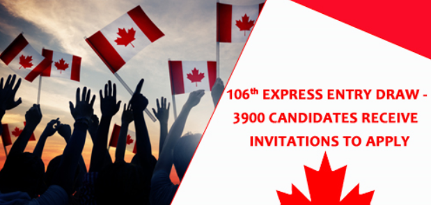 106th-Express-Entry-Draw-3900-Candidates-Receive-Invitations-to-Apply
